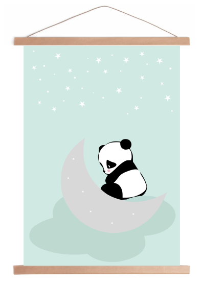 dreaming panda framed_preview